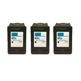3PK CH563WN (HP 61XL) Compatible Ink Cartridge For HP DeskJet 1000 - J110a (Pack of 3)