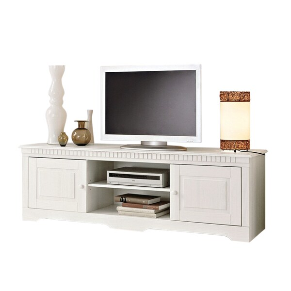 Lisa 69 Inch Solid Pine Entertainment Unit