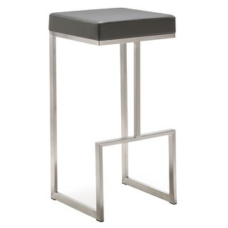 Ferrara Stainless Steel Barstool (Set of 2)