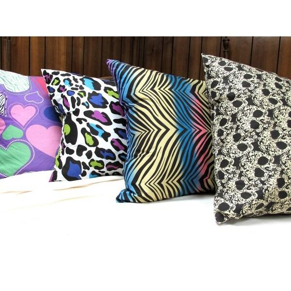 Microfiber Printed Pillow (Set of 2)