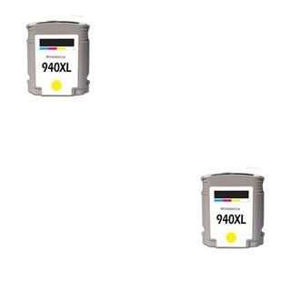 2PK 940 XL Y C4909AN Compatible Ink Cartridge For HP Officejet Pro 8000 ( Pack of 2 )