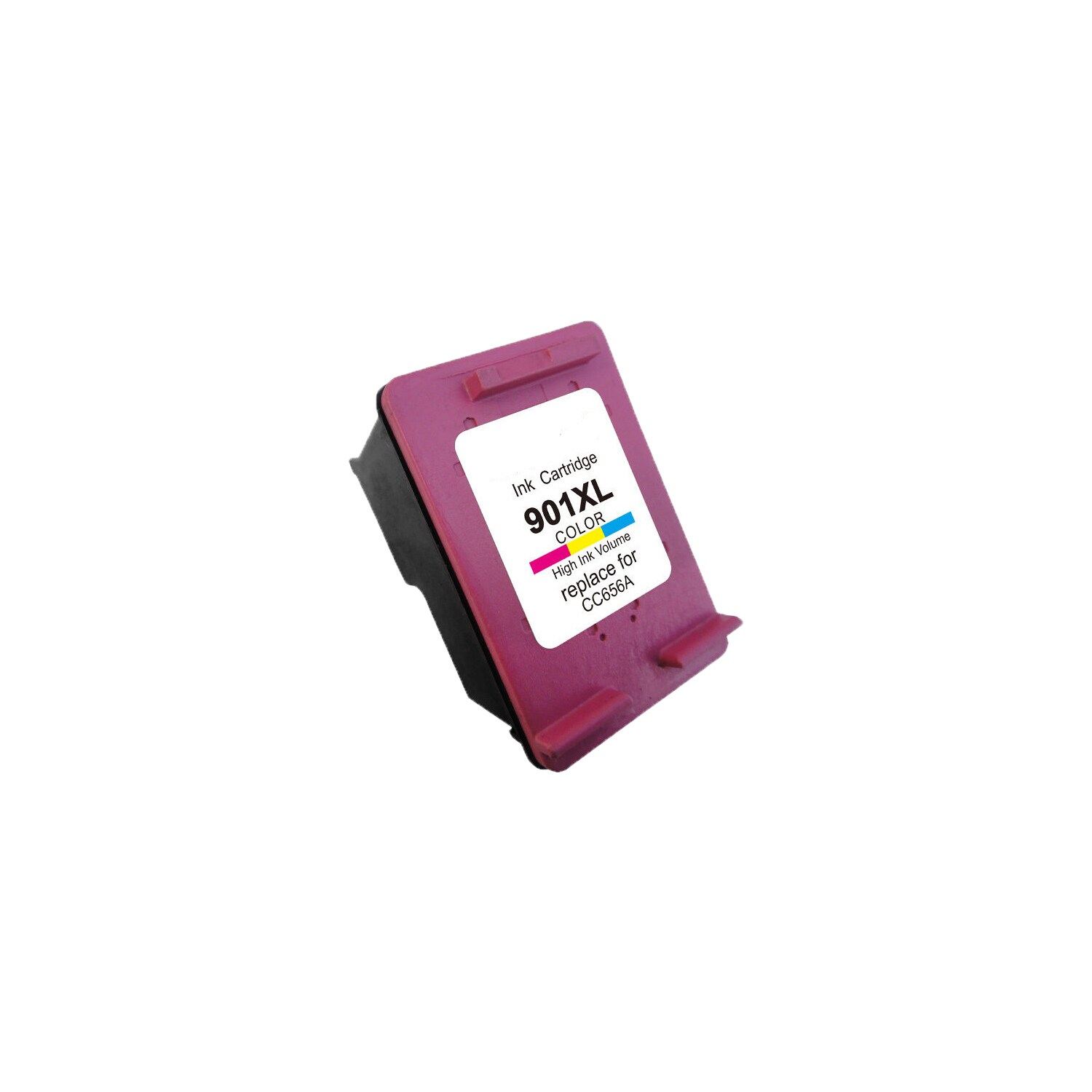 N 1PK 901 Xlcmy (CC656AN) Compatible Ink Cartridge For HP...