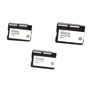 3PK 933XL C M Y ( CN054AN - 056AN ) Compatible Ink Cartridge For HP OfficeJet 6600 ( Pack of 3 )