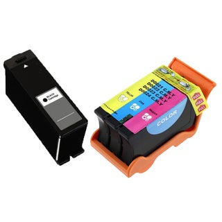 2PK T110N T109N Color (Series 24) Compatible Ink Cartridge For Dell V715W P713W ( Pack of 2 )