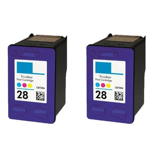 2PK HP C8728A (HP 28) Color Compatible Ink Cartridge For HP Deskjet 3320 3322 ( Pack of 2 )