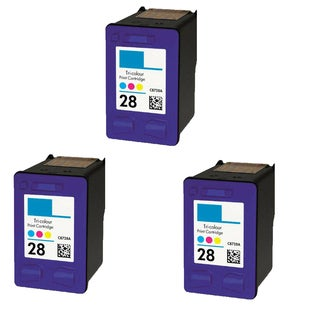 3PK HP C8728A (HP 28) Color Compatible Ink Cartridge For HP Deskjet 3320 3322 ( Pack of 3 )