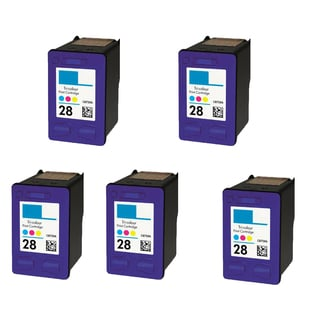 5PK HP C8728A (HP 28) Color Compatible Ink Cartridge For HP Deskjet 3320 3322 ( Pack of 5 )