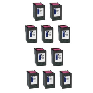 10PK HP C8727A (HP 27) Black Compatible Ink Cartridge For HP Deskjet 3320 3322 3420 ( Pack of 10 )