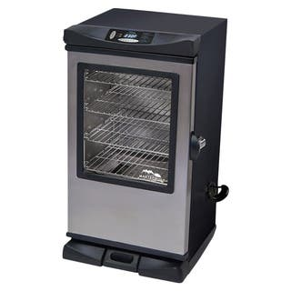 Masterbuilt Gen2 30-inch 730 Square Inch Electric Smoker with Window and RF Remote|https://ak1.ostkcdn.com/images/products/10612076/P17683233.jpg?impolicy=medium