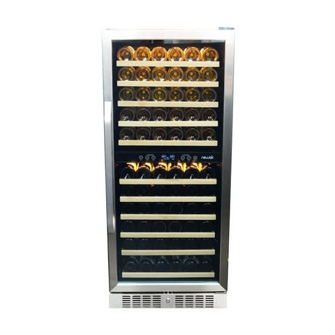 NewAir 116 Bottle Dual Zone Premier Gold Series Wine Cooler