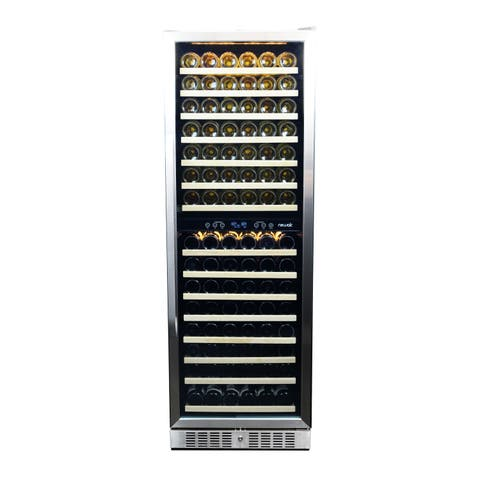 NewAir 160 Bottle Dual Zone Premier Gold Series Wine Cooler