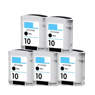 5PK C4844A Black Compatible Ink Cartridge For HP Designjet 1000 1100 1100d ( Pack of 5 )