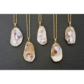Mint Jules Mabe Natural Pearl Slice Pendant|https://ak1.ostkcdn.com/images/products/10612164/P17683333.jpg?impolicy=medium
