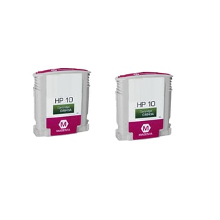 2PK C4843A Magenta Compatible Ink Cartridge For HP Designjet 1000 1100 1100d ( Pack of 2 )