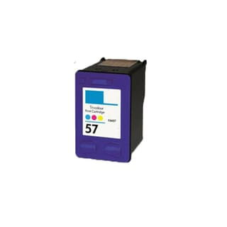 1PK HP C6657 (HP 57) Compatible Ink Cartridge For HP Officejet 4110 5510 6100 6110 (Pack of 1)