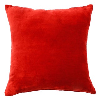Velvet Red Pillow