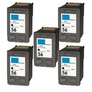 5PK HP C6656 (HP 56) Compatible Ink Cartridge For HP Deskjet 3550 5550 5652 9650 9680 (Pack of 5)