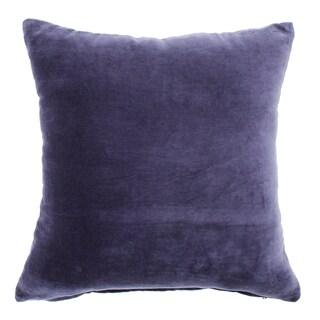 Velvet Navy Pillow