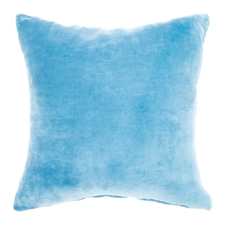 Velvet Ice Blue Pillow