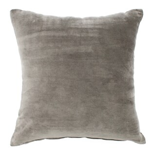Velvet Grey Pillow