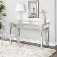 Abbyson Omni Glam Mirrored Desk