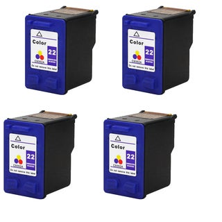 4PK C9352A XL (HP 22) Color Compatible Ink Cartridge For HP Deskjet 3930 series ( Pack of 4 )