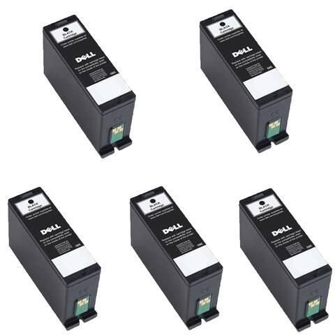 5PK 331-7689 Black Compatible Ink Cartridge For Dell 31 32 33 34 V525w V725w ( Pack of 5 )