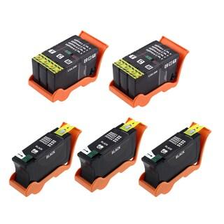 5PK 3 x T093N + 2 x T094N Black & Color Compatible Ink Cartridge For Dell V313 V313W V515W V715W P513W P713W ( Pack of 5 )