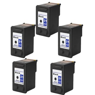 5PK C9351A XL (HP 21) Black Compatible Ink Cartridge For HP Deskjet 3930 series ( Pack of 5 )