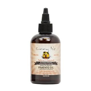 Sunny Isle 4-ounce Jamaican Organic Pimento Oil with Black Castor Oil