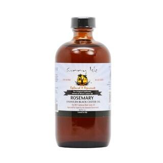 Sunny Isle Rosemary 8-ounce Jamaican Black Castor Oil