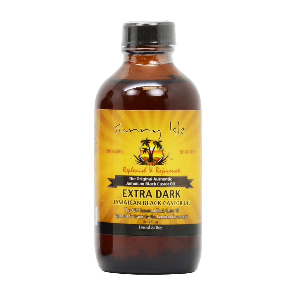 Sunny Isle 4-ounce Extra Dark Jamaican Black Castor Oil