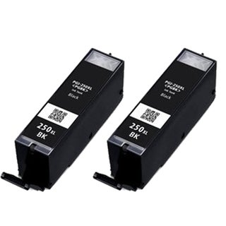 2PK CAN-PGI250 XL BK Compatible Ink Cartridge For Canon PIXMA MX300 series (Pack of 2)