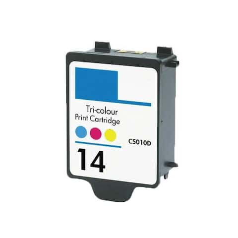 1PK C5010AN HP 14 Color Compatible Ink Cartridge For HP CP1160 Officejet D135 ( Pack of 1 )