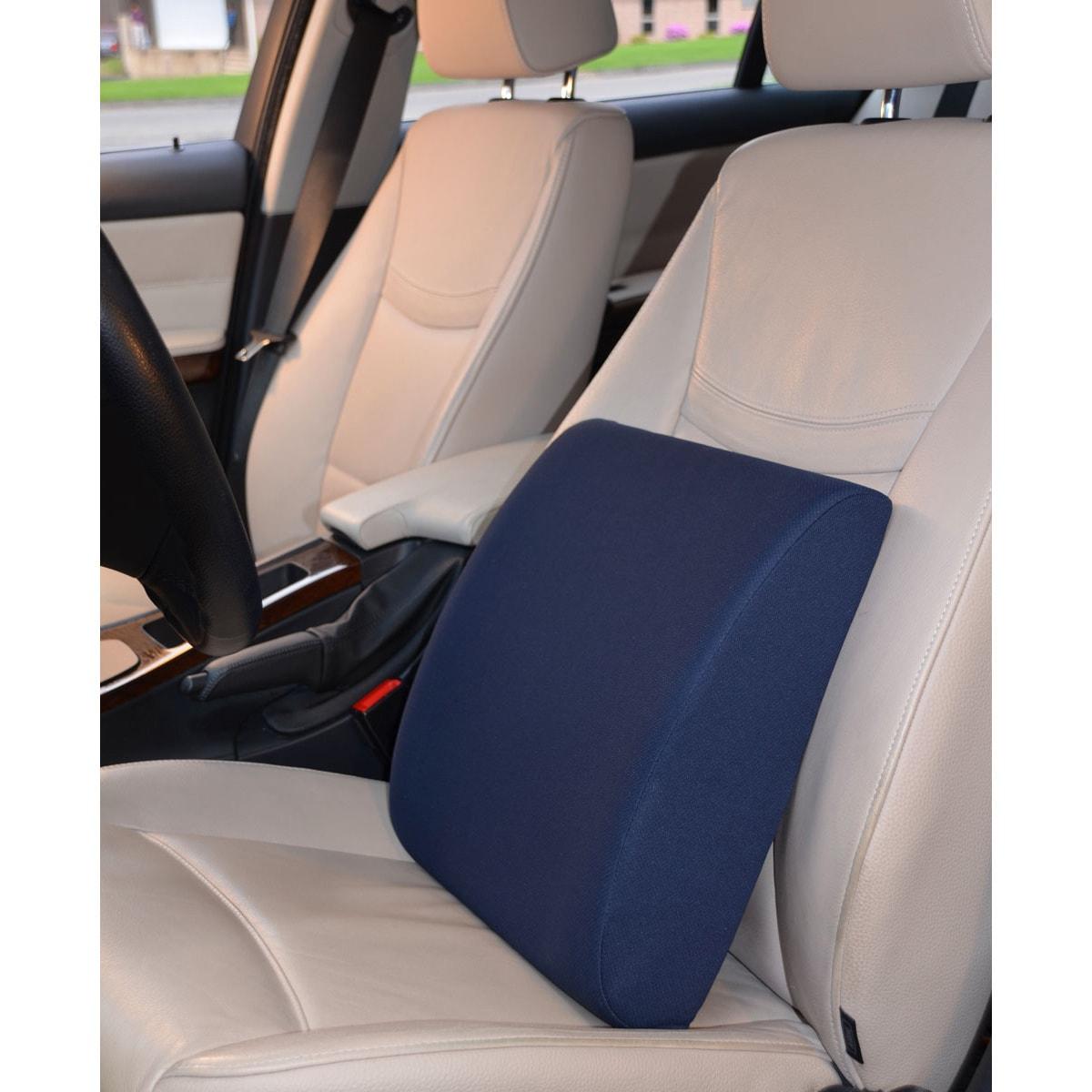 Hermell Cooling Gel Lumbar Cushion, Blue