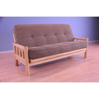 Somette Lodge Full Size Futon Set with Tantra Mattress