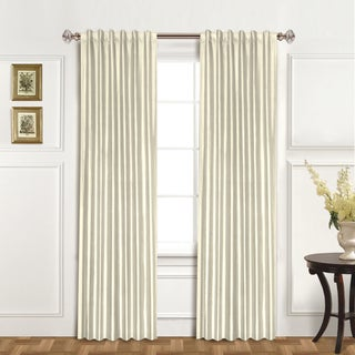 Luxury Collection 100-percent Dupioni Silk Curtain Panel