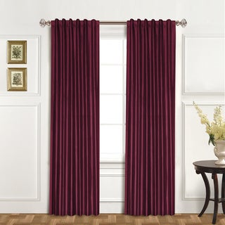 Luxury Collection Dupioni Silk Insulated Single Curtain Panel