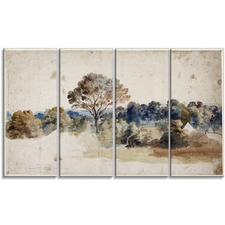 Design Art 'Anthony van Dyck - Landmark'Master Piece Landscape Artwork