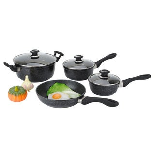 Cast Aluminum Nonstick 7-piece Cookware Set