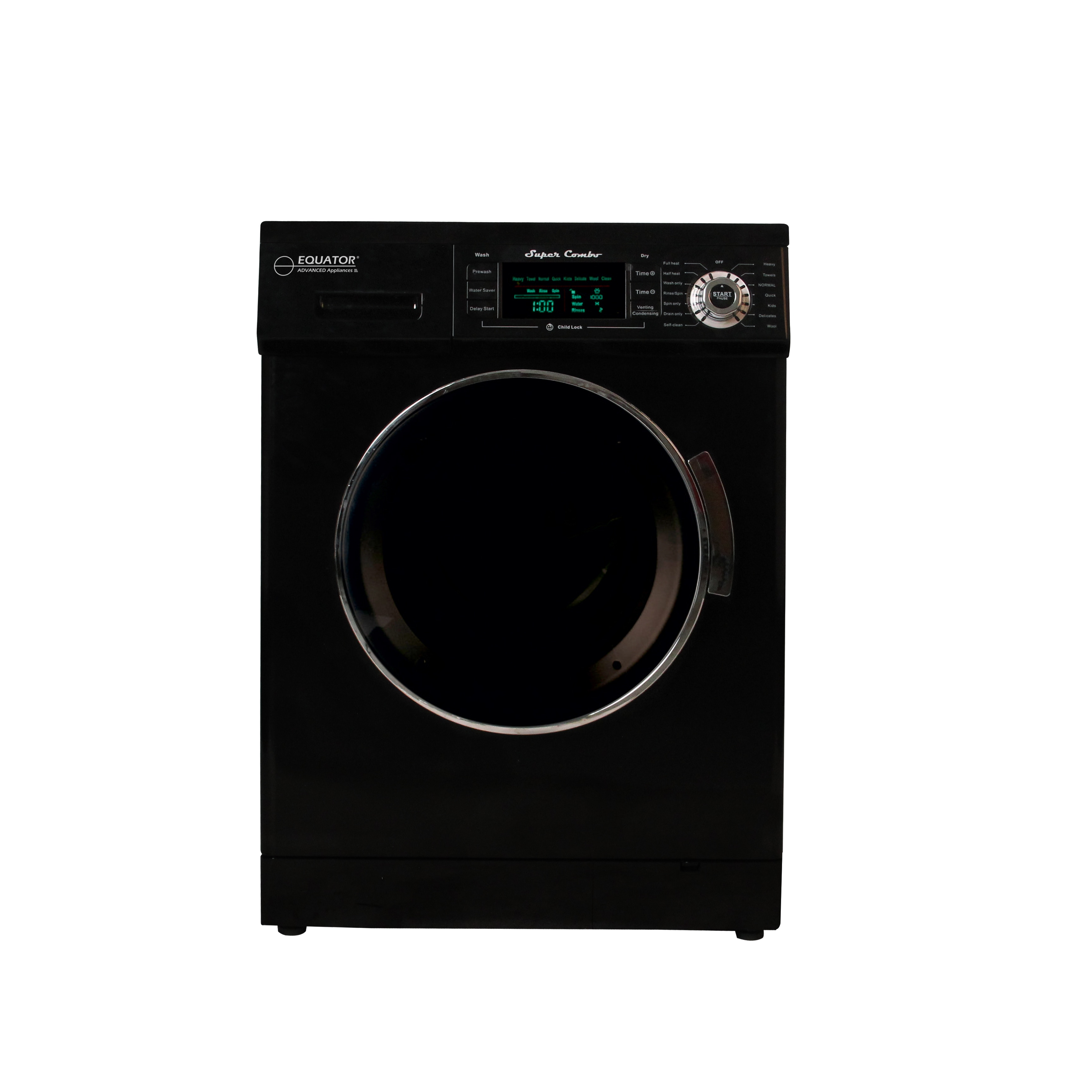 Equator 1.6 cu. ft. Compact Combo Washer and Electric Dry...