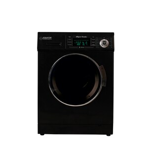 1.6 cu. ft. Compact Combo Washer and Electric Dryer with Optional Condensing/Venting (Option: Black)