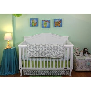 Lolli Living Quilted Penguin 3-piece Baby Bedding Crib Set