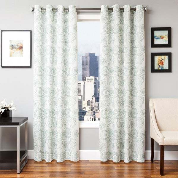 Softline Essex Embroidered Curtain Panel