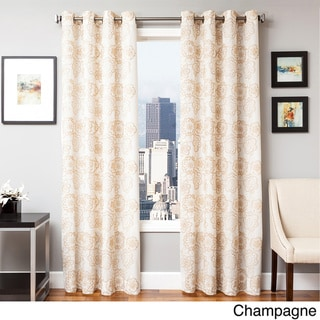 Essex Embroidered Curtain Panel
