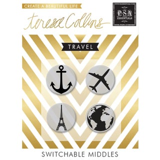 Teresa Collins Switchable 'Travel' Stamps