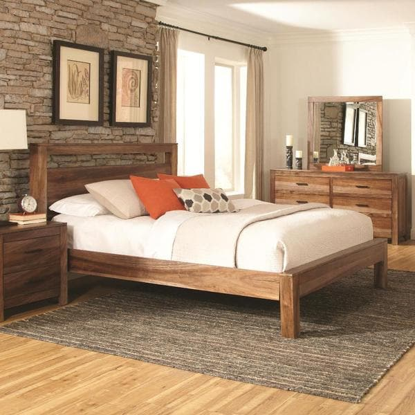 Manning 4 piece rustic bedroom set free shipping today for Bedroom 4 piece set