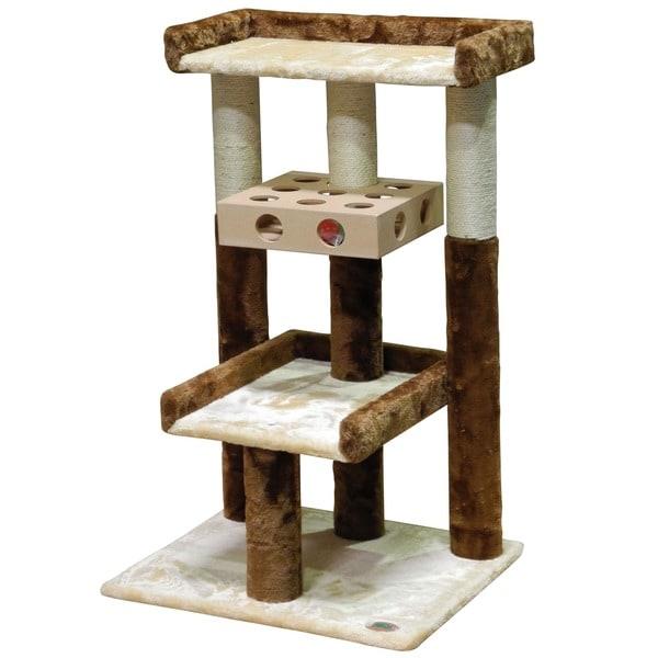 GoPetClub IQ Busy Box 34.5-inch Cat Tree