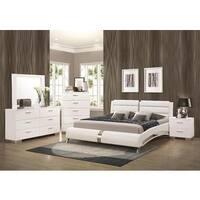 Oliver & James Nash 6-piece White Bedroom Set