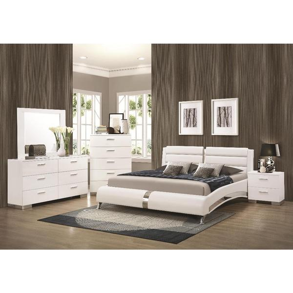 Shop Strick & Bolton Nash 6-piece White Bedroom Set - Free ...